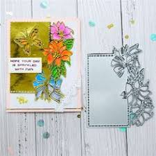 <b>Eastshape Flower Lace</b> Edge Dies <b>Frame</b> Metal Cutting Dies for ...