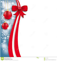 red christmas flyer royalty stock photo image  christmas flyer oblong red ribbon stock images