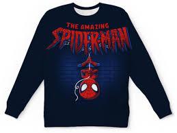 <b>Детский свитшот унисекс</b> Spiderman #2114537 в Москве ...