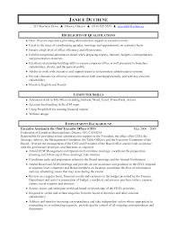business administration resume objective examples  admin    admin