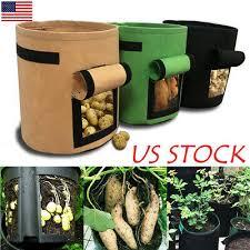 <b>DIY Potato Grow</b> Planter PE Cloth <b>Planting</b> Container Bag Thicken ...
