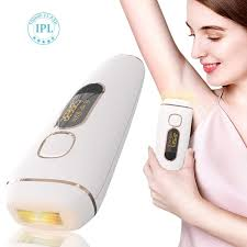 White <b>Hair Removal</b> Instrument <b>Laser Epilator</b> Body Face Leg Hair ...