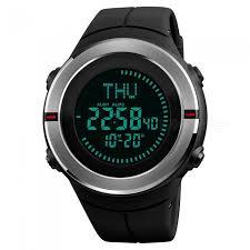 SKMEI 1294 50m <b>Waterproof</b> Men's <b>Digital</b> Sports Watch With ...