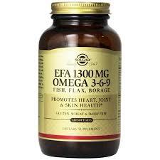 <b>Solgar EFA 1300 mg</b> Omega 3-6-9 Softgels 120 ct   Walmart Canada
