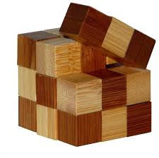 <b>Головоломка Eureka</b> 3D Bamboo Puzzles Snake Cubes (473128 ...