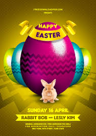 colors happy easter flyer psd psd com happy easter flyer blue easter easter eggs easter rabbit egg hunt flowers green grass