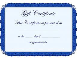blank gift certificate template example xianning blank gift certificate template example award certificate paper printable babysitting coupon template clipart best