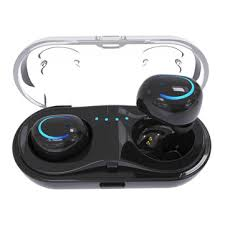 [truly wireless] hbq <b>q18 bluetooth earphone</b> with 650mah charger ...