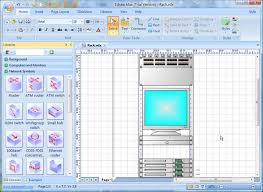 visio network diagram replacement software   better solution for    visio rack diagram