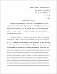compare and contrast essay on high school and college  essay example ap english language and composition  response essay questions compare and contrast essays on high school and college recruiting