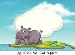 <b>Hippopotamus</b> Vectors - Royalty Free - GoGraph