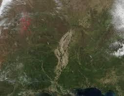 wildfires cross much of southeastern united states nasa unlabeled version of the image