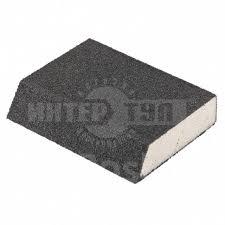 <b>Губка для шлифования</b>, <b>120 х 90 х 25 мм</b>, трапеция, мягкая, p60 ...