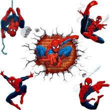 <b>spiderman</b> sticker wall