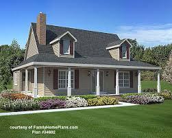 House Plans   Porches   Wrap Around Porch House PlansWrap around porch from Family Home Plans