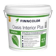 <b>Краска в/д FINNCOLOR</b> Oasis Interior Plus база A 2,7 л