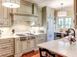 Painted Glazed Kitchen Cabinets Diy Painting Kitchen Cabinets Ideas Pictures From Hgtv Hgtv