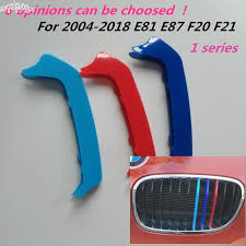 <b>3D Sport</b> M <b>Style</b> Car Front Grille Stripe Cover Motorsport Power ...