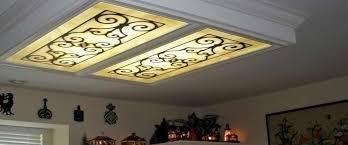 kitchen fluorescent lighting. decorative fluorescent light covers kitchen ceiling lighting g