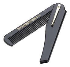 Купить мужская <b>складная расческа для бороды</b> The Bearded Man ...