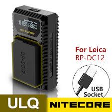 <b>100</b>% <b>Original Nitecore</b> ULQ Digital USB Travel Charger For Leica ...