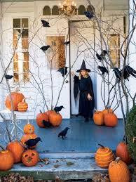 ideas outdoor halloween pinterest decorations: halloween decorations pumpkins ravens  halloween decorations pumpkins ravens