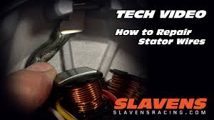 How to Repair <b>Stator</b> Wires - YouTube