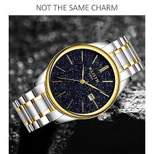<b>WLISTH</b> Star Watch Men's Calendar Quartz Watch | Shopee ...