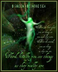 Absinthe...the green fairy on Pinterest | Spoons, Fairies and Alcohol