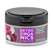 <b>Пенящаяся глина для тела</b> Detox Organics Kamchatka NATURA ...