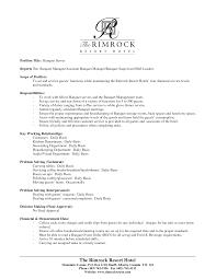 resume sample manager position sample resumes customer service front desk coordinator resume example for hotel and office front hotel resume