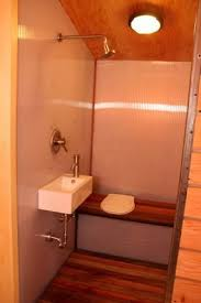 entire bathroom is considered a wet area with combined shower toilet and sink area bathroom shower toilet
