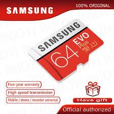 <b>Original SAMSUNG EVO</b> Plus <b>Memory</b> Card 64GB U3 <b>EVO</b> + 128GB ...