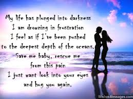 I Miss You Messages for Wife: Missing You Quotes for Her ... via Relatably.com