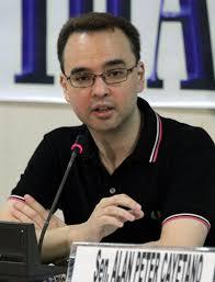 ALAN PETER CAYETANO: Senator Alan Peter Cayetano talks about the recent Blue Ribbon ... - 0804_00