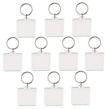 Jili Online 10Pieces Square Transparent Clear ... - Amazon.com