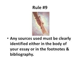 essay writing  golden rules rule