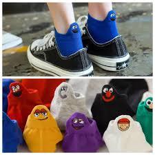 Kawaii женские <b>носки с вышивкой</b>, Happy Fashion, забавные ...