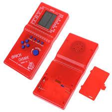 hot tetris brick game kids classic handheld machine with music fun puzzle console