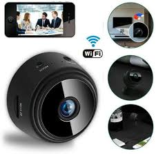 Buy Nusense 1080P <b>Mini Camera</b> Round WiFi Full HD Night View ...