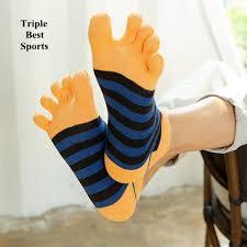 Five Fingers Shu <b>Toe Socks</b> Men's Pure Cotton Wire Low-Top Short ...