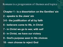 Chapter     is a dissertation on the Gentiles sin     speaks to     Chapter     is a dissertation on the Gentiles sin     speaks to the Jews