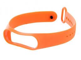 <b>Aксессуар Ремешок</b> DF для <b>Xiaomi Mi</b> Band 3 4 Silicone Orange ...