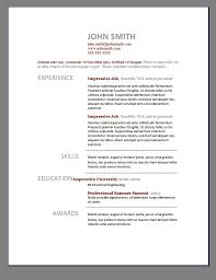 resume template best templates microsoft word cv intended 87 cool best resume templates template