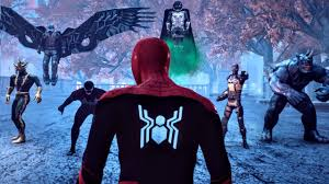 SPIDER-MAN VS. SINISTER SIX | Part 1 - [ Marvel <b>3D</b> Fan ...
