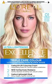<b>L'Oreal</b> Excellence <b>01</b> Supreme Lightest Natural Blonde Permanent ...