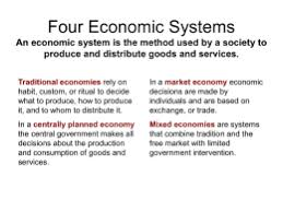 note taking device for chapter  economic systems four economic systems   goshen central school district