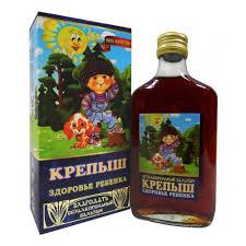 <b>Бальзам</b> безалкогольный Крепыш (<b>детский</b>) , 250 мл — купить в ...