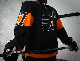 philadelphia flyers back in black for stadium series chris flyers stadium series uniform