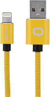 Кабель <b>Qumo MFI</b> С48 USB-Apple 8 pin, 1,2 м Yellow (30014 ...
